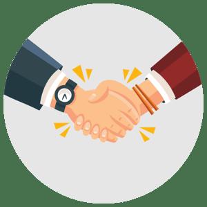 Work life balance Handshake